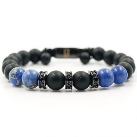 pret a porter armband Blauem Jaspis