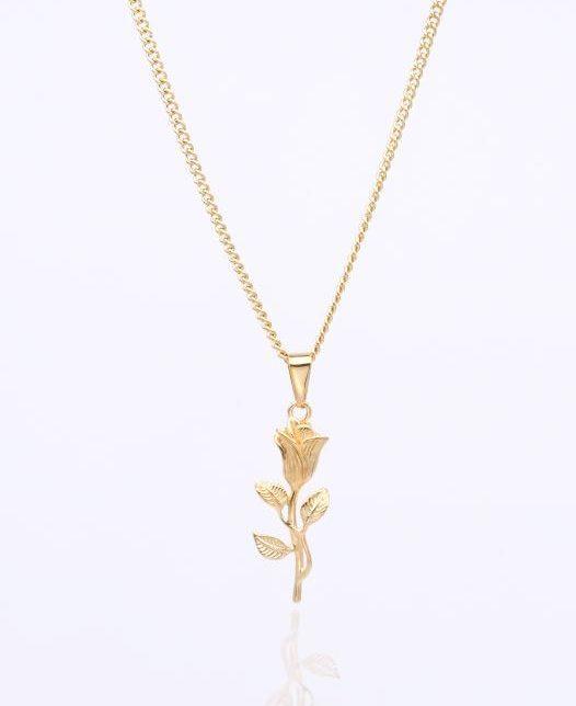 Rose Kette Gold